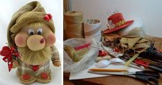 Kto to skúsi? Gnomes, Baby Toys, Diy And Crafts, Recycling, Teddy Bear, Hobbit, Sewing, Creative, Pattern