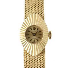時計 【R's】ロレックス18KYGカメレオン1960年代アンティーク Watch rolex ¥498000円 〆03月21日