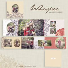 3x3 Mini Accordion Album - Whisper