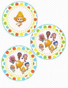Bubble Guppies Birthday Party Banner