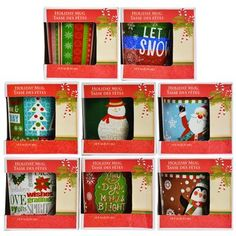 Christmas House GiftBoxed Flared Stoneware Mug 14 oz Assorted Styles ** You can find out more details at the link of the image.