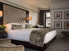 Hotel bedrooms, hotel bedroom decor, hotel style bedding, hotel inspired be Hotel Bedroom Design, Home Bedroom, Modern Bedroom, Bedroom Decor, Bedroom Ideas, Master Bedroom, Bedroom Designs, Bedroom Furniture, Linen Bedroom
