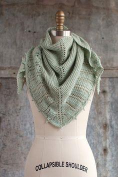 Free knitting pattern, shawl