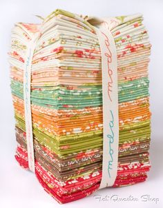 Fresh, retro look of Honeysweet by Fig Tree Quilts!  Coming soon to Fat Quarter Shop.