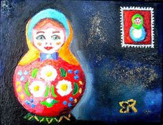 L'artiste Monique RENAULT - Matriochka