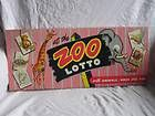VINTAGE 1950'S AT THE ZOO LOTTO ANIMAL CARD GAME COMPLETE BY ED-U-CARD