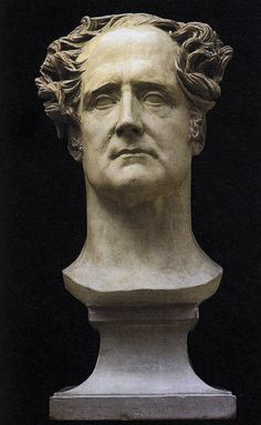 Pierre-Jean David d'Angers, Bust of Chateaubriand