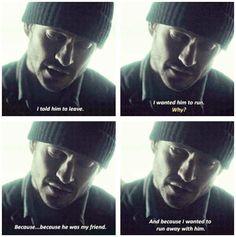 You told him we knew. Hannibal 3x04 Antipasto. Source: babblingbrooke.tumblr