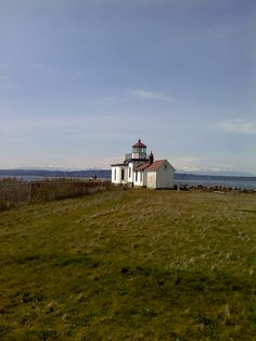 Discovery Park lighthouse