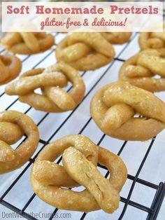 Recipe: Easy Soft Homemade Pretzels
