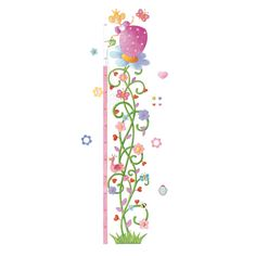 ¿Quieres saber cuánto has crecido en estos meses?, compruébalo de la forma más original y divertida con este simpático medidor adhesivo Princesa Margarita.