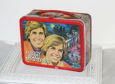 Metal Lunch Box Vintage Hardy Boys Mysteries 1977 Thermos