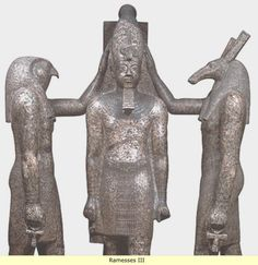 Ancient Egypt: The new kingdom -  Ramesses III.was the second ruler of Egypt's 20th Dynasty.Ramesses father of Setnakhte,may have been related to Ramesses II(Ramesses the Great) But in any case,Ramesses III is considered to be the last of the great pharaohs,his reing was during a time considerable turmoil throughout southern Europe and the Mediterranean Islands