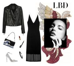 """""""Little Black Dress"""" by fashionkookoo ❤ liked on Polyvore featuring Arca, Paige Denim, Dion Lee, Jimmy Choo, Humble Chic, Smith & Cult, Urban Decay and LBD"""