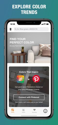 ‎Project Color™ The Home Depot on the App Store Home Depot Paint Colors, Coordinating Paint Colors, Home Depot Store, Coloring Apps, Home Remodeling Diy, Project Board, Vinyl Siding, Project Yourself, App Store