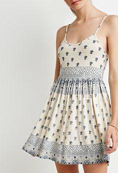Floral Cami Babydoll Dress | Forever 21 - 2000184037