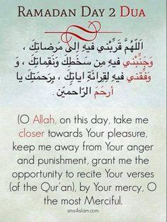 A Muslimah's Musing's: Fun day) Ramadan Calendar dua Day 2 Ramadan Dua List, Ramadan Prayer, Mubarak Ramadan, Ramadan Day, Islam Ramadan, Islam Beliefs, Islamic Teachings, Islam Quran, Islamic Dua