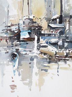 Tony Belobrajdic , Shipyard 1 on ArtStack #tony-belobrajdic #art