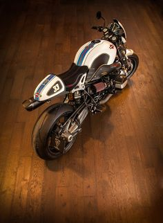 BMW R nineT # CafeRacer Martini Racing Version by Stucki2Rad - VTR Customs  caferacerpasion.com