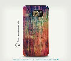 Samsung Galaxy Case, Cool Galaxy S6 Case, Unique Art Case, Galaxy S5 Case, Colorful Samsung Galaxy Cover, Phone Cover