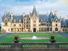 And finally, The Biltmore, Asheville, N.C. It's the largest home in the U.S.