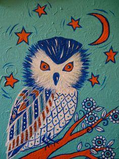 peinture-folk-art-owl