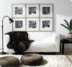Black and white modern