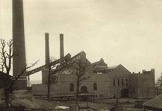 Värtaverket 1910.   #Vartaverket, the combined heat and power (#CHP) plant in Stockholm in 1910.