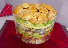 Sałatka Big Mac - Blog z apetytem Big Mac, Guacamole, Salads, Hamburger, Cooking, Ethnic Recipes, Blog, Kitchen, Blogging