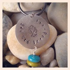 """""""You are loved, xox"""" family tree keychain. Perfect holiday gift! $15. More items at etsy.com/shop/RobinDesignSmith"""