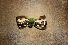 Skellington Death Hand  Green by RiotGearHairBows on Etsy, $8.00