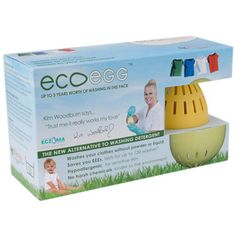 The Ecoegg is an easy to use alternative to washing powders and liquid detergents. Just place the Ecoegg into the drum of your machine with your washing and select your usual washing program. There is no need to add any washing powder or softener making it ideal for sensitive skins as well as being economical. The Ecoegg is proven to clean away grime and food stains and can be used on washing programs up to 60 degrees although it is just as effective at 30 or 40 degrees. The pack contains…