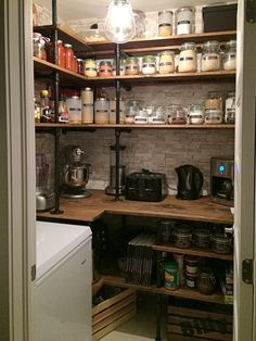 5' x 5' Perfect Industrial look Pantry