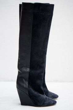 Isabel Marant Anthracite Prescott Boot