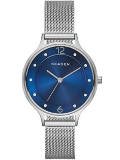 Skagen Ladies Anita Steel Mesh Bracelet Watch