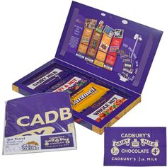The Cadbury's Retro Selection Box returns for Christmas with a slight tweak to last year's offering. Selection Boxes, The Selection, Retro Christmas, Xmas, Cadbury Chocolate, Christmas Chocolate, Tea Towels, Candies, Navidad