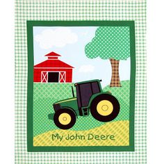 Baby Quilt Queen - Ruling the Realm of Baby Quilt Patterns: Who doesn't love a John Deere?