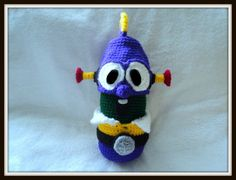 Amigurumi To Go!: LarryBoy Costume For Crochet Cucumber Inspired by Veggie Tales