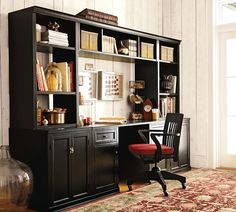 Logan Pottery Barn Office Suite