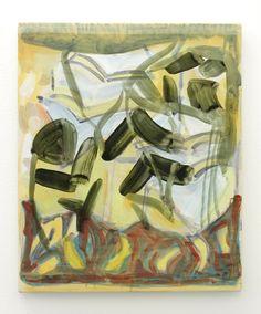 Gwennan Thomas, Untitled (2014), oil on calico