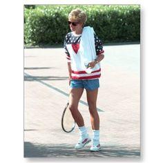 Princess Diana playing Tennis - London 1994