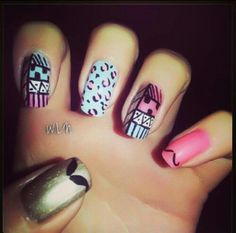 Different designs for these nails