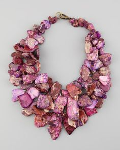 love the color combination!   Statement Jewelry - Jewelry - Neiman Marcus