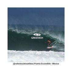 @RobertoVieiraatleta aproveitando as bombas de Puerto Escondido uma das melhores ondas com fundo de areia do mundo.  #Greenish #SUP #Surf #SurfWear #Sustentabilidade #VivendoACulturaSurf by greenishbr http://ift.tt/1OQ5jcq