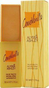 Alyssa Ashley Coco Vanilla by Alyssa Ashley for Women. Eau De Toilette Spray 1.7-Ounces by Alyssa Ashley. $107.99. Product DescriptionALYSSA ASHLEY COCO VANILLA by Alyssa Ashley for WOMEN EDT SPRAY 1.7 OZ