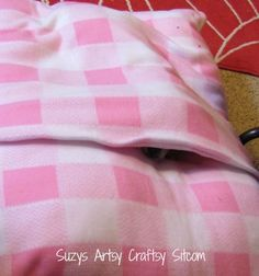 dog bed tutorial and pattern