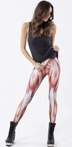 Leggings I'll wear to work so that teaching the musculoskeletal system to patients will be a breeze.    Not. :)