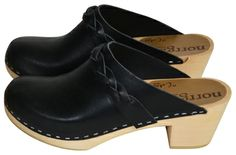 From Elle Decoration - Clogs from Calou made for Norrgavel