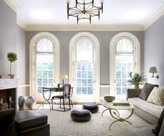 farrow and ball colours pavilion gray & cream dining room - Google Search