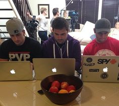 Jesse, Charles and Shay. Together. YouTube! CTFxC, Shaytards, BfvsGf.